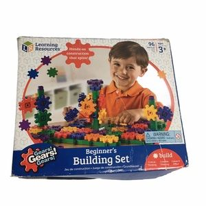 Beginners Gears Building Set Toy. Ages 3+